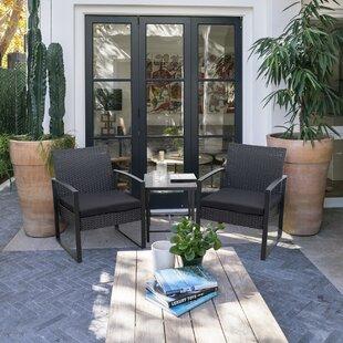 Front Patio Furniture.3 Piece Front Porch Sets Wayfair