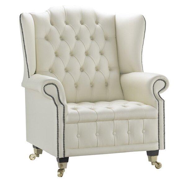 Venetia Queen Anne Wingback Chair