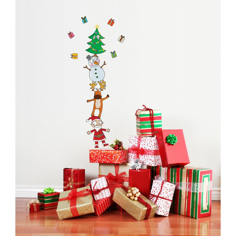 adzif christmas wall decal & reviews | wayfair