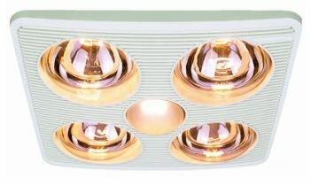 90 CFM Bathroom Fan with Heater and Light  sc 1 st  Wayfair & Aero Pure 90 CFM Bathroom Fan with Heater and Light u0026 Reviews ... azcodes.com