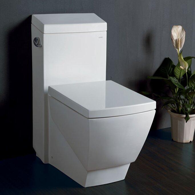 Fresca Apus Square 1.6 GPF Elongated One-Piece Toilet & Reviews ...