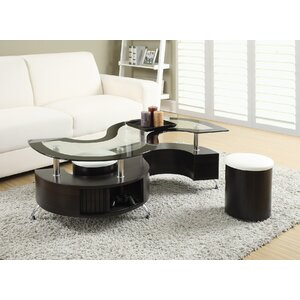 Milivoje 3 Piece Coffee Table Set