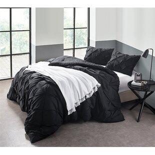 508475162bf black  u0026 white comforters  u0026 sets you u0027ll love wayfairiyonna comforter  set