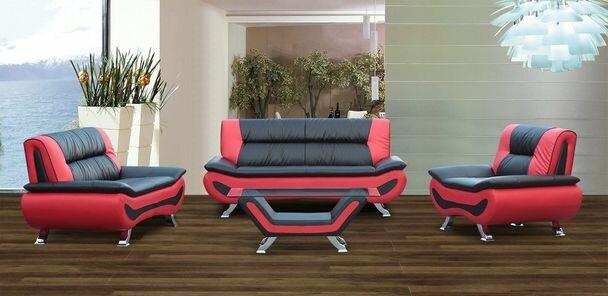 Wade Logan Berkeley Heights 4 Piece Living Room Set & Reviews ...