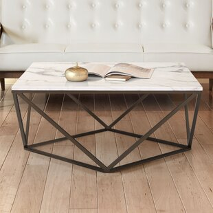 Carrara Marble Coffee Table Wayfair - White carrara marble coffee table