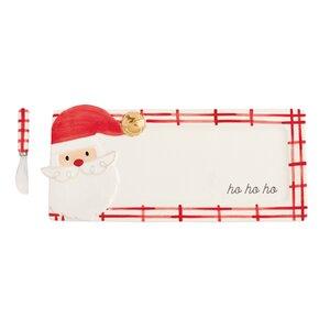 Santa Christmas Hostess Platter