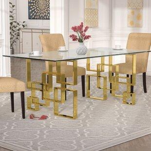 Gold Base Dining Table Wayfair