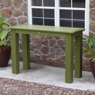 Admirable Plastic Outdoor Console Tables Youll Love Wayfair Dailytribune Chair Design For Home Dailytribuneorg