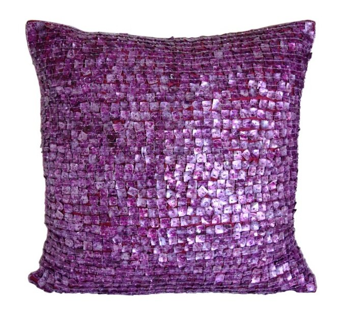 Decorative Pillow With Pearls : Debage Inc. Mother of Pearls Throw Pillow & Reviews Wayfair.ca