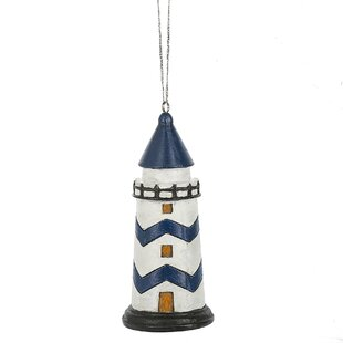 Decorative Lighthouse Hanging Figurine