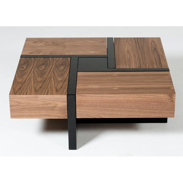 Brayden Studio Lipscomb Makai Coffee Table With Storage