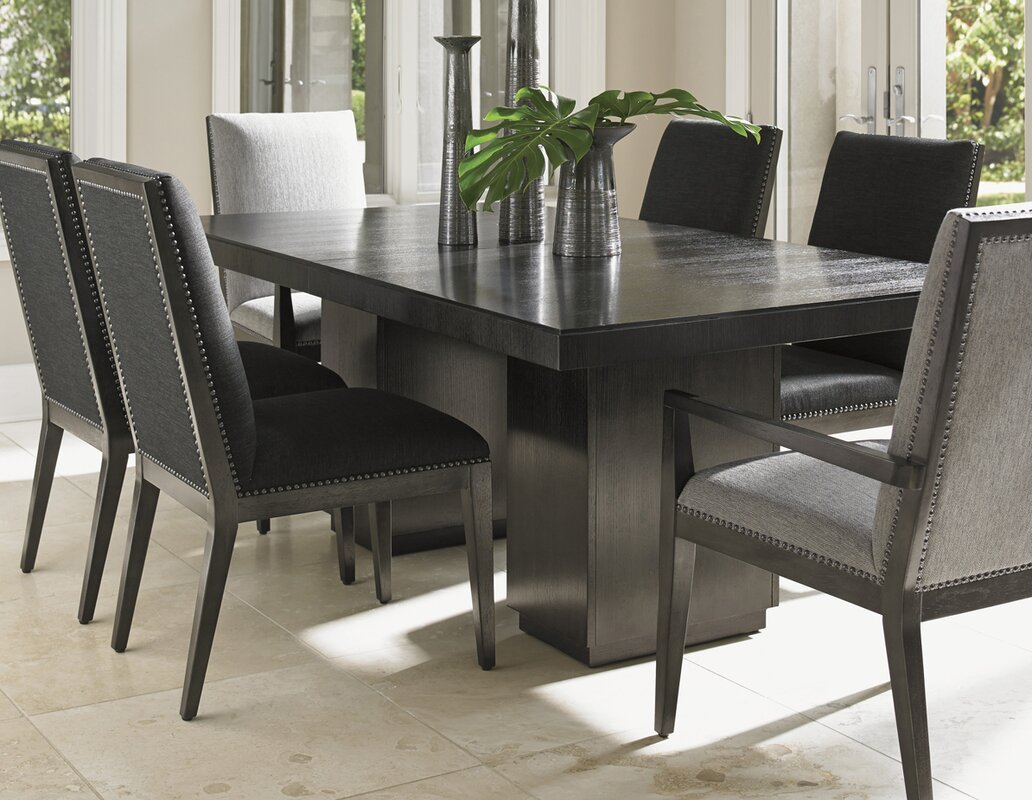 Extending Dining Room Table Lexington Carrera Extendable Dining Table & Reviews  Wayfair