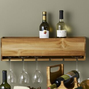 Takara 6 Bottle Wall Mounted Wine Rack