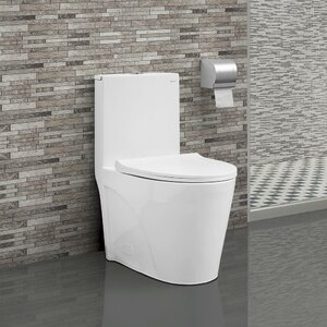 St. Tropezu00ae Dual Flush Elongated One-Piece Toilet