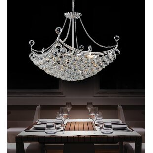 Crystal chandeliers youll love wayfair 8 light crystal chandelier aloadofball Choice Image