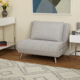 Light Gray Futon Chair