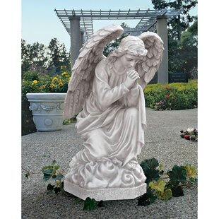 Etonnant Angel The Praying Basilica Statue