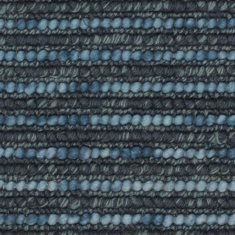 Samson Hand Knotted Dark Blue Area Rug