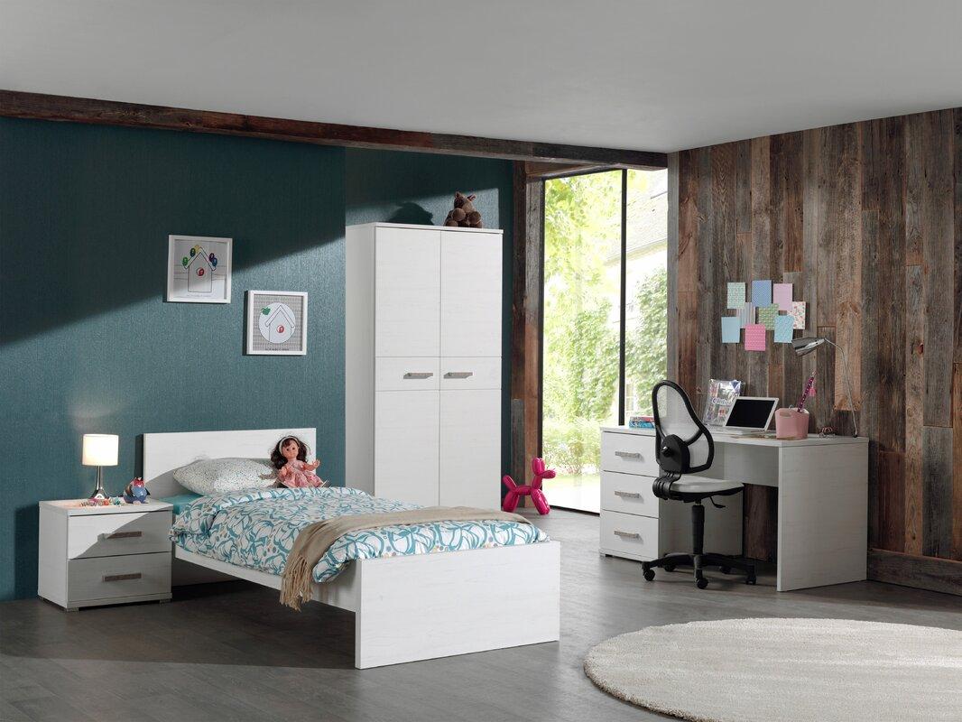vipack 4 tlg schlafzimmer set sofie 90 x 200 cm