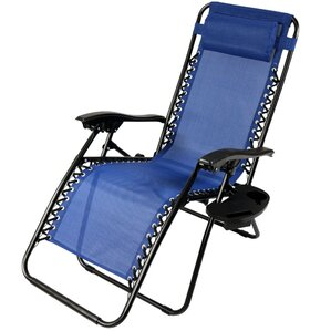 zero gravity chair with pillow and cup holder - Folding Outdoor Chairs