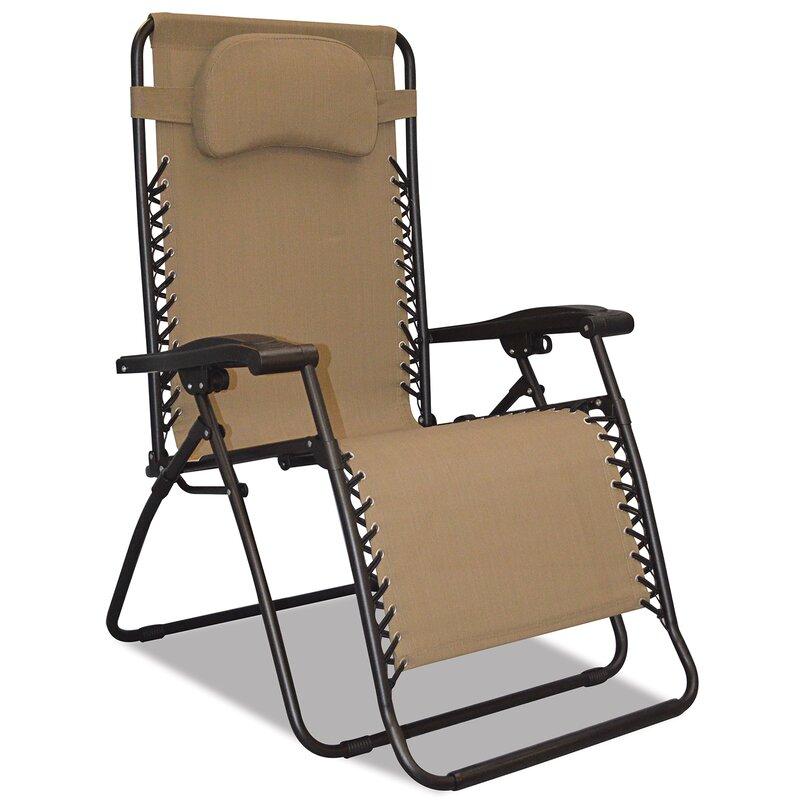 Crs Reclining Zero Gravity Chair Wayfair