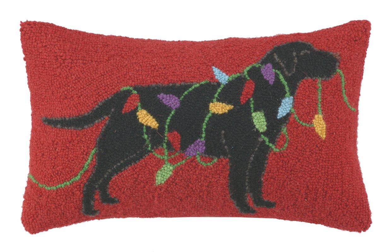 Birch Lane Holiday Mischief Hooked Pillow Amp Reviews Wayfair
