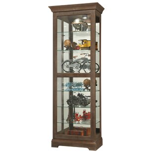 Bricelyn Lighted Curio Cabinet
