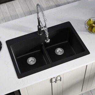 Black Kitchen Sinks You Ll Love Wayfair