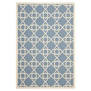 edward blue u0026 beige area rug