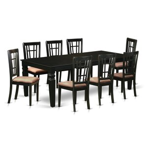 Beesley 9 Piece Dining Set by Darby Ho..