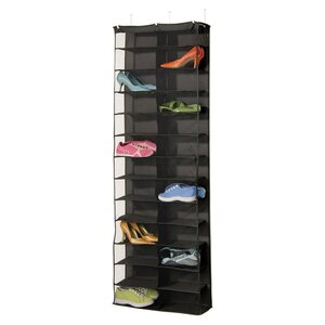 Gearbox StorageCaddy 26 Pair Overdoor Shoe Organizer