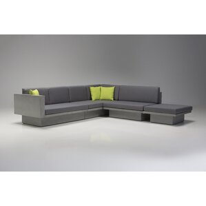 Mensae Sectional with Coffee Table and Ottoman by Brayden Studio