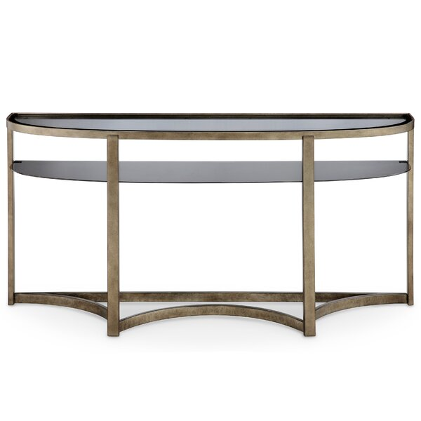 Beautiful Darby Home Co Riverdale Contemporary Demilune Console Table | Wayfair