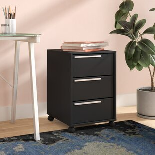 Kolton 3 Drawer Vertical Filing Cabinet
