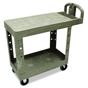 Commercial Flat Shelf Utility Cart