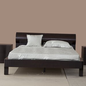 Manhattan Platform Bed by Whiteline Imports
