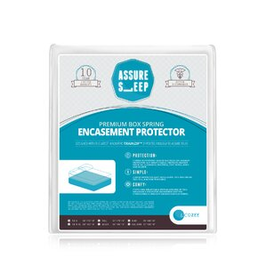 Assure Sleep Bed Bug Hypoallergenic Waterproof Mattress Protector by LaCozee