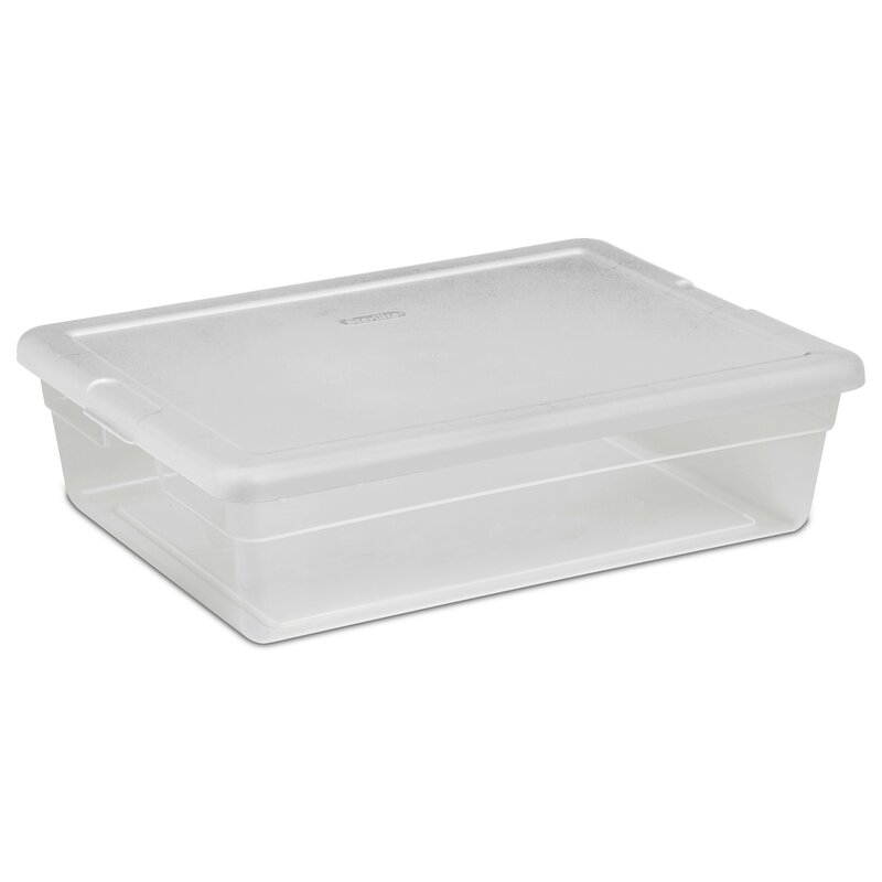 28 Qt. Clear Storage Box