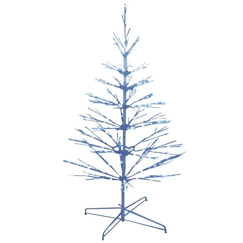 brite star 374 light led twig tree christmas decoration. Black Bedroom Furniture Sets. Home Design Ideas