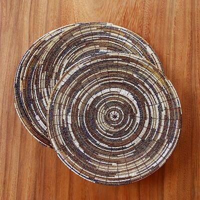 Round Beaded Placemats | Wayfair