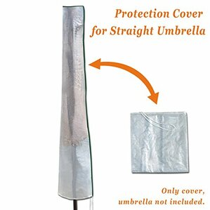 Bel Outdoor Furniture Protector Straight Patio Umbrella Storage Cover