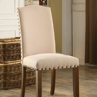 Frick Upholstered Dining Chair (Set of 2)