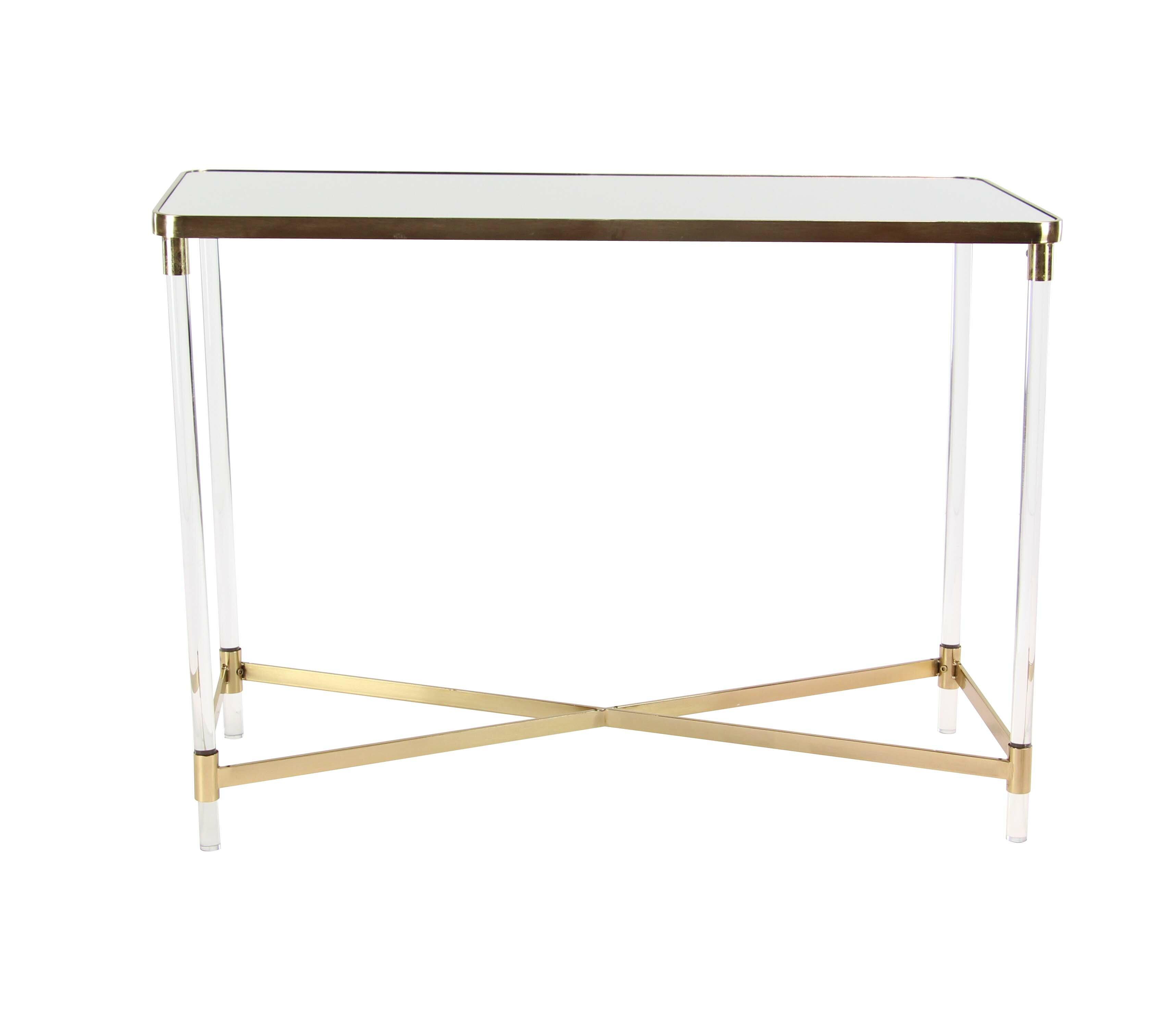 Acrylic Sofa Table Acrylic Console Sofa Tables You Ll Love