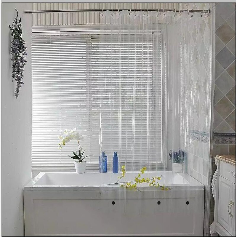Waterproof Vinyl Shower Curtain