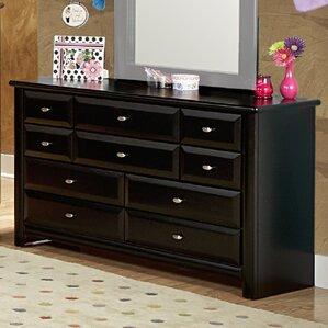Eldon 9 Drawer Double Dresser by Harriet Bee