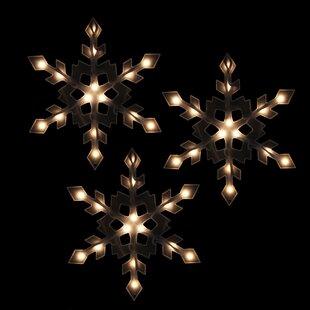 lighted snowflake wayfair