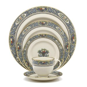 Autumn Bone China 5 Piece Place Setting, Service for 1