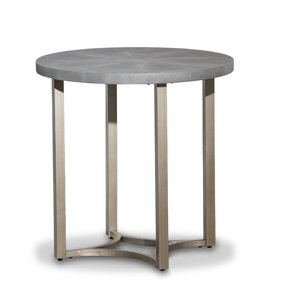 Alta Round End Table by Michael Amini (AICO)