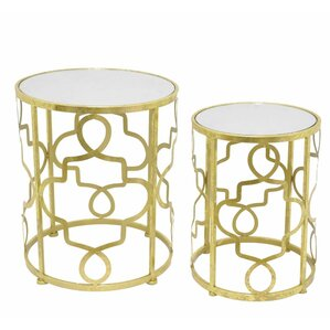 2 Piece Nesting Tables by Three Hands