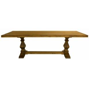 Balduíno Maple Extendable Solid Wood Dining Table